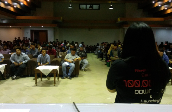 iREAP POS - Job Fair in Universitas Gunadarma