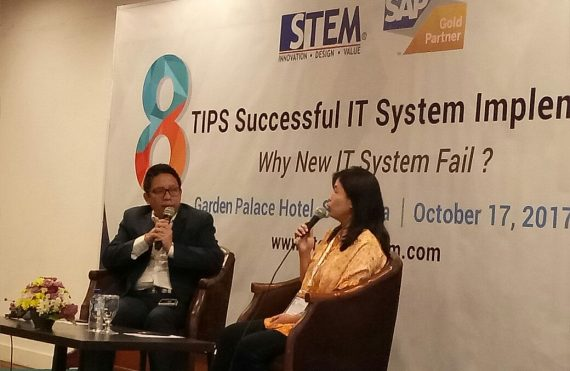 Surabaya Seminar : 8 Tips Successful IT System Implementation with Djoko Kurniawan