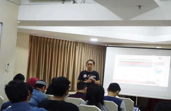 iREAP POS Workshop in Event Gathering Kios Online - Tanah Abang Blok B