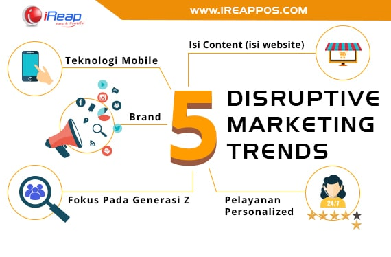 5 DISRUPTIVE MARKETING TRENDS - iREAP POS News