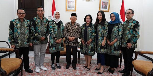 iREAP POS Bersama Ketua Umum Akumandiri IUMKM Indonesia Bertemu Wakil Presiden K.H Ma'ruf Amin Bahas Pengembangan UMKM Prioritas Pemerintah