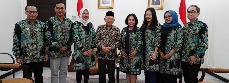 iREAP POS Bertemu Wakil Presiden Kh Maruf Amin Bahas IUMKM Indonesia