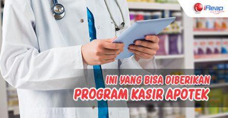 Ini yang bisa diberikan program kasir apotek