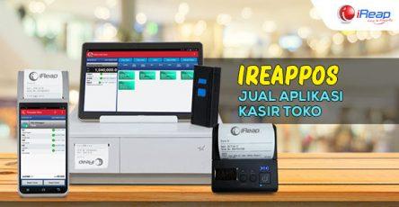 iREAPPOS jual aplikasi kasir toko