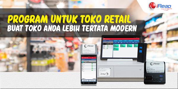 Program untuk Toko Retail buat Toko Anda lebih tertata Modern