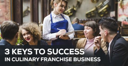 3 key to success in culinary franchise business