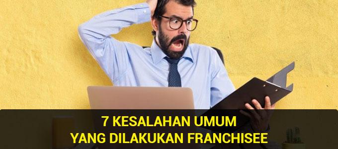 Kesalahan bisnis franchise