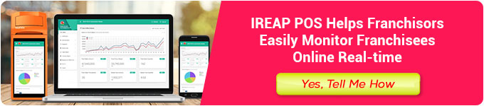 Manage your franchise business with the iReap POS cashier application