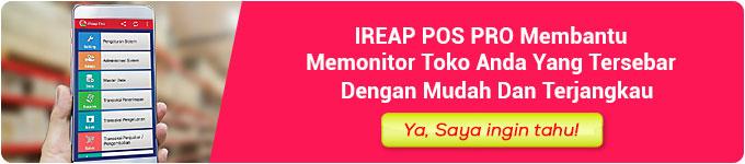 iReap POS Pro Membantu Memonitor Toko Anda yang Tersebar