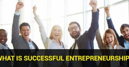 what is successful entrepreneurship