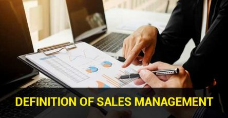 Definition of Sales Management