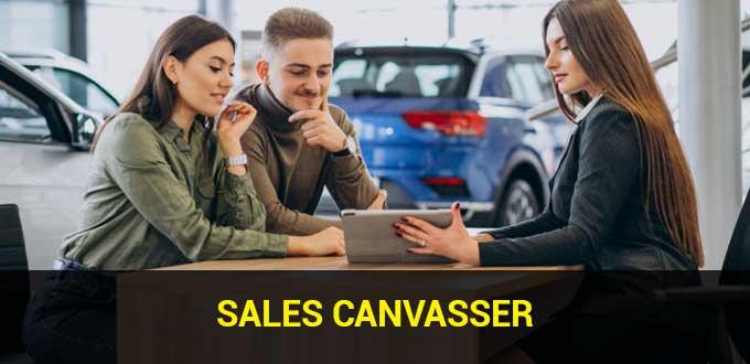 sales canvasser