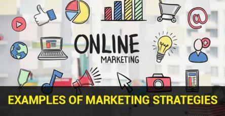 examples of marketing strategies
