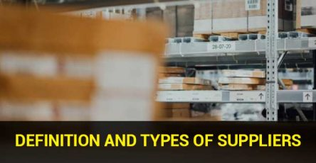 Definition and Types of Suppliers