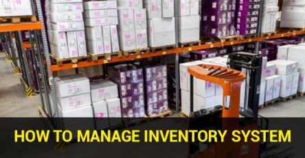 how to manage inventory system