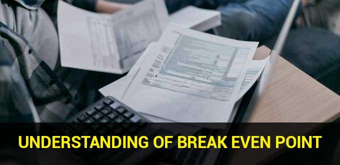 understanding of break even point