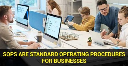SOPs are standard operating procedures for businesses