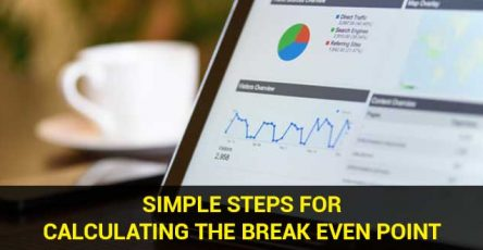 simple steps for calculating the break even point