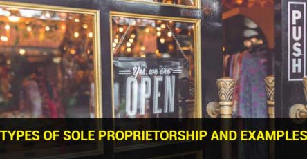 Types of Sole Proprietorship and Examples